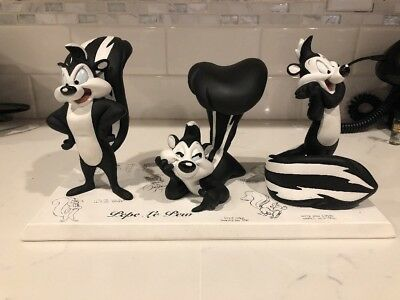 Warner Brothers Exclusive Pepe Le Pew Model Sheets Maquettes