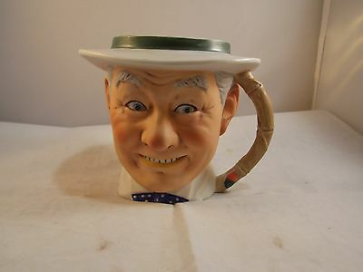 Vtg 1979 Norman Rockwell Saturday Evening Post Toby Mug NRM-6