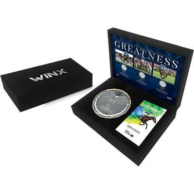 Winx  Greatness  Official Limited Edition Replica Cox Plate In Display Box