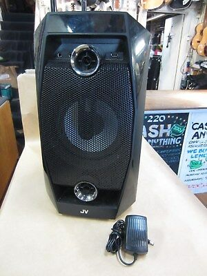Jvc 8-Inch Rechargeable Bluetooth Speaker Xs-Ym8 – Good Used Condition