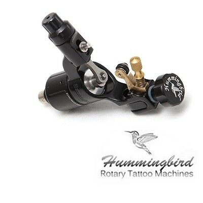 Black hummingbird rotary tattoo machine gun SWISS motor for liner shader SR2 JT