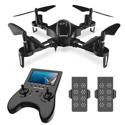 Holy Stone HS230 Storm Racing FPV RC Drone with FOV HD Camera 5.8G LCD 2 Battery