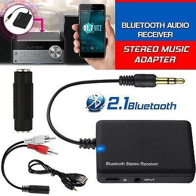 2019 Wireless Bluetooth Audio 3.5mm Music Receiver Stereo Music Adapter