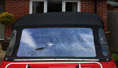 Mg Midget Soft Top Crystal Clear Hood Material Convertible Rear Window