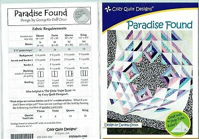 Paradise Found - Cozy Quilt Designs Quilt Pattern