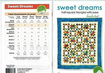 Sweet Dreams - Cozy Quilt Designs Quilt Pattern