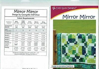 Mirror Mirror - Cozy Quilt Designs Quilt Pattern