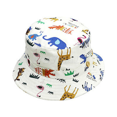 Toddler Girl Baby Kids Bucket Hat Summer Cap Beach Sun Outdoor Bonnet Beanie