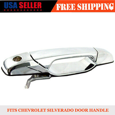 New Exterior Door Handle Rear Driver Side for 07-14 Chevy GMC Pickup 25890259
