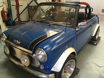 Classic Mini Italian Job Project Convertible 116000 Picclick Uk