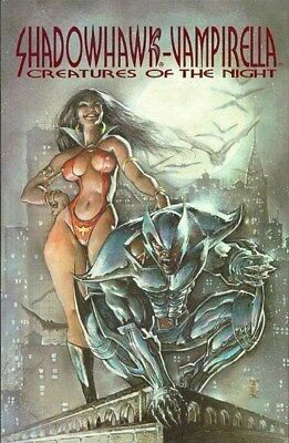 Shadowhawk/Vampirella - Creatures of the Night (1995) One-Shot
