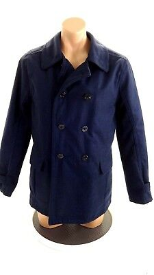 Nwt Urban Republic Mens Navy Blue Peacoat Size M
