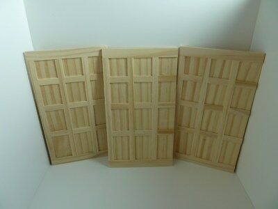 Dolls House Miniature 1:12th Scale Building Indoor Tudor Style Wood Wall Panels