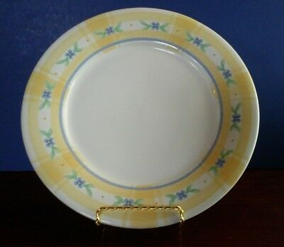 1 Pfaltzgraff 11  Dinner Plate Summer Breeze Yellow and Blue (7 available) & 1 PFALTZGRAFF 11