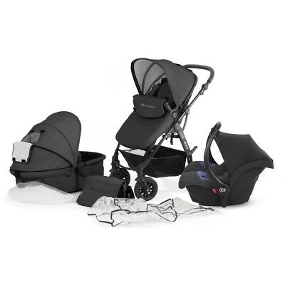 Kinderkraft Moov Travel System - Graphite Grey