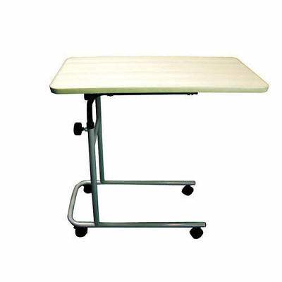 Over bed & chair Easy Tilt Table With Wheels Multipurpose Adjustable Table Desk