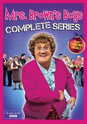 Mrs. Brown`s Boys-Mrs. Brown`s Boys:complete Series  Dvd New