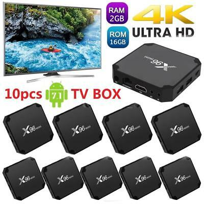 X96 Mini Smart TV Box Android 7.1 S905W Quad Core H.265 8G/ 16G 4K WiFi HD Media