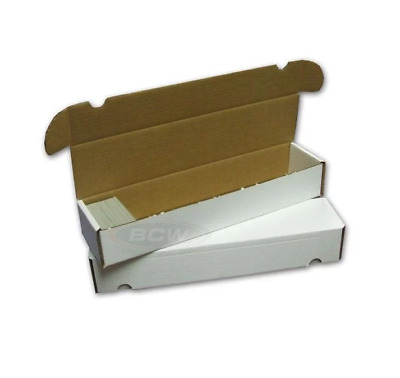 BCW 930 Count Cardboard Card Storage Box - Holds 825 Standard /1320 Gaming Cards