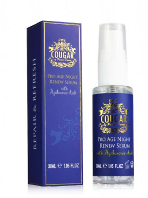 Cougar by Paula Dunne Pro Age Night Renew Serum With Hyaluronic Acid (HA) 30ml