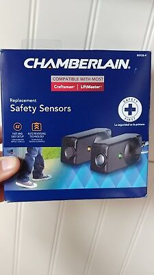 Chamberlain Replacement Safety Sensors 801CB-P NEW