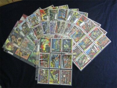 Topps Mars Attacks Archives 1994 Complete 100 Card Set Plus Promo Extras Mint