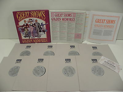 ✈8LP Box Set GREAT SHOWS GOLDEN MEMORIES READER S DIGEST EEC M ✈15B26✈
