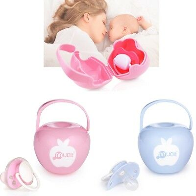 MagiDeal Baby Soother Container Holder Pacifier Dummy Box Travel Storage Case