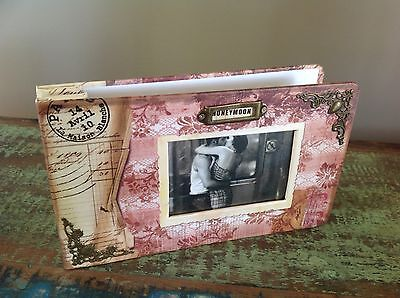 VINTAGE LOOK Wedding Honeymoon PHOTO ALBUM. BRAND NEW Boxed Gift