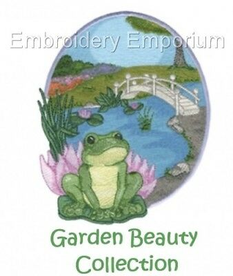 Garden Beauty Collection - Machine Embroidery Designs On Cd