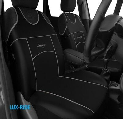 Ford Focus Mk3 2011 Onwards Front Eco Leather Seat Covers Vest T-Shirt