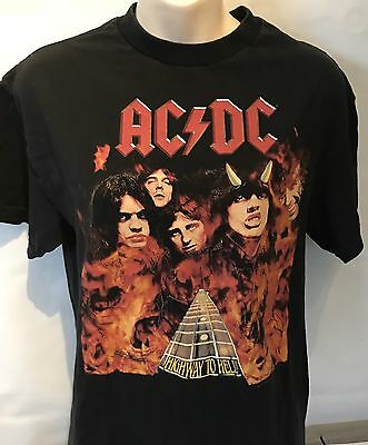 AC/DC Concert Shirt Highway To Hell Free Shipping