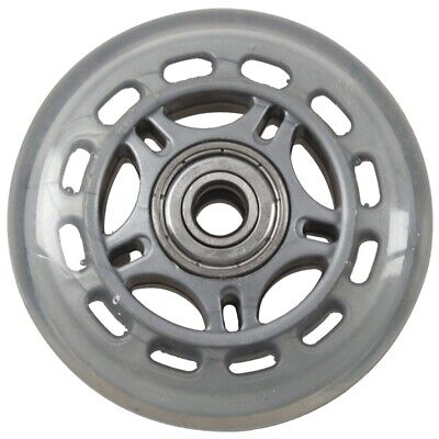 Skating Shoes 608ZZ Bearing Inline Skate Wheel Clear Gray S9E7
