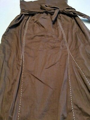 women's Old Navy  A-line maternity skirt size small brown new
