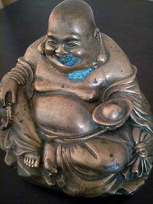 Genuine & Quality Chinese  Antique Bronze Incense Burner & Bronze Buddha Statue