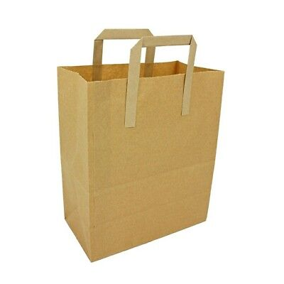 SPECIAL OFFER - Stronghold© Brown Paper Take Away Carriers ,50 x XL bags