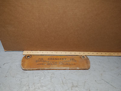 Antique Crescent Brand No.130 Hand Crank Clothes Wringer  Lovell Mfg. Co. Parts