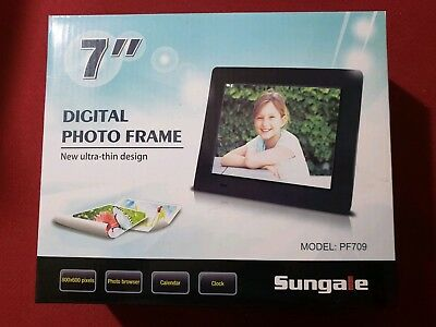 Luxury Sungale 7 Digital Picture Frame Adornment - Picture Frame ...