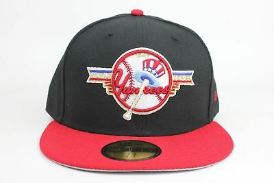 89ae175acaf9f New Era 59FIFTY New York Yankees Fitted Hat Cap 1947 World Series WS Navy  Red NY