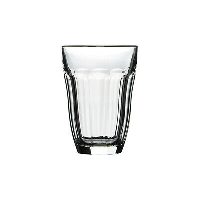6x Pasabahce Baroque Latte Glass 220mL Coffee Cocktail Tempered Mixed Drink