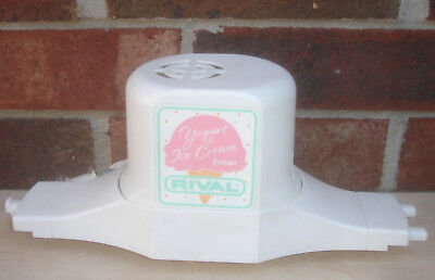 Rival Ice Cream Maker/Freezer 8401/1 Motor 4 Qt.