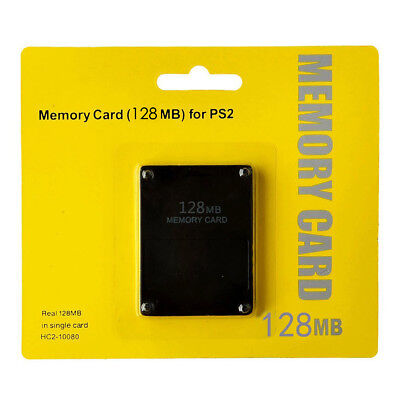 Brand New 8/16/32/64/128MB Memory Card for Sony PlayStation 2 PS2 Accessories