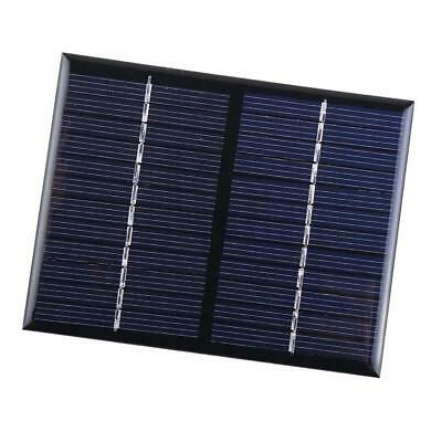 1X Mini 12V 1.5W Solar Panel Small Cell Module Charger For Cellphone Battery BR