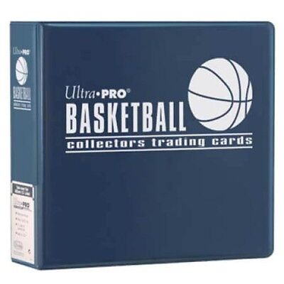 "Ultra Pro Basketball Collector Card Album - 3"" Blue Binder"