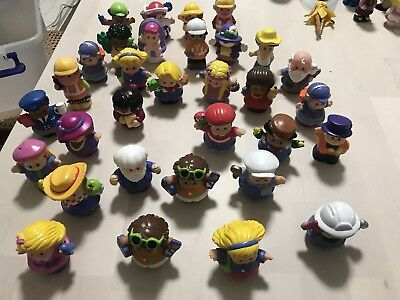 62 x Fisher Price Little People and Various Figures