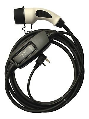 Peugeot ion EV Charging Cable 5 Metre 10 Amp with UK Plug (EV3)