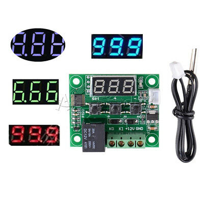 DC 12V W1209 -50-110°C LED Digital thermostat Temperature Control Switch Sensor