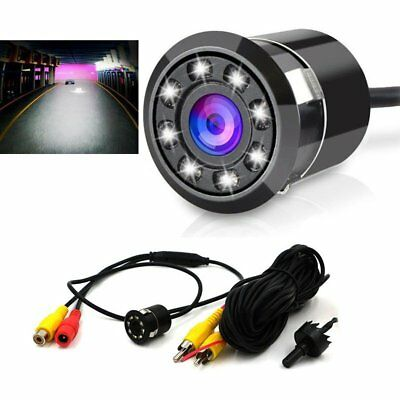 170° CCD Car Rear View Reverse Backup Camera Reverse LED Night Vision Waterproof