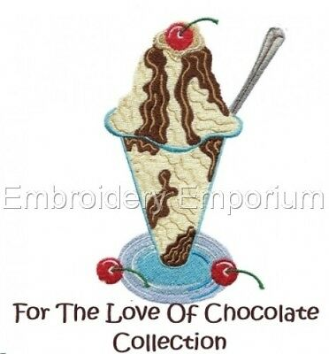 For The Love Of Chocolate Collection - Machine Embroidery Designs On Cd