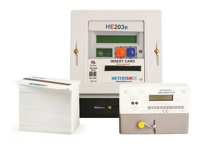 Electric Prepayment Card Meter Package | Domestic or Commercial